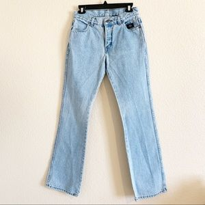 Harley Davidson | High Waisted Light Wash Jeans 6L